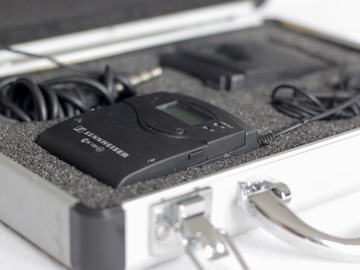 Lender: Sennheiser ew 100 g3 wireless mikrofonsæt