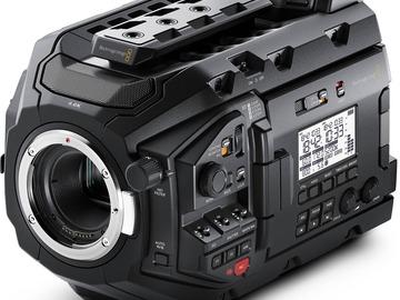 Udlejer: Blackmagic Ursa Mini Pro 4.6k Canon EF
