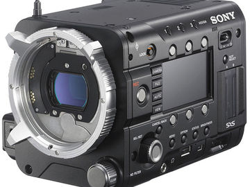 Udlejer: Sony F55 CineAlta 4K Digital Kamera + R5 RAW Recorder