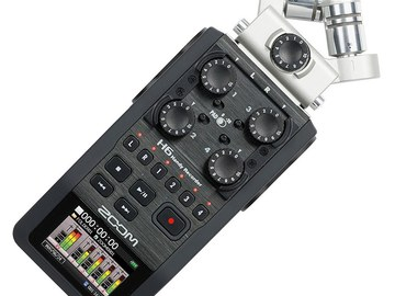 Zoom H6 Handy Recorder | Zoom