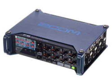 F8 MultiTrack Field Recorder | Zoom