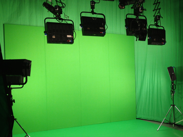 Vermieter: Green Screen Setup