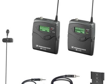 Udlejer: Sennheiser G2 Wireless Lavalier Mic Kit