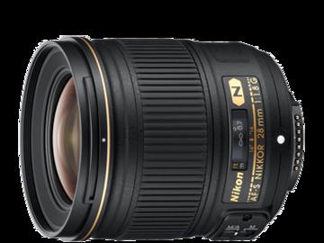 Udlejer: Nikon Nikkor 28mm f/1.8 med canon adapter