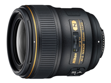 Udlejer: Lej vores Nikon Nikkor 35mm f/1.4 med canon adapter