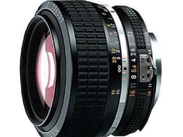 Udlejer: Lej 2x Nikon Nikkor 50mm f/1.2 med canon adapter
