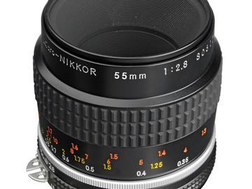 Udlejer: Lej vores Nikon Nikkor 55mm macro f/2.8 med canon adapter