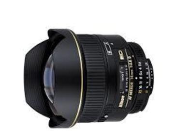 Udlejer: Nikon 14mm F2.8D AIS Nikkor med canon adapter