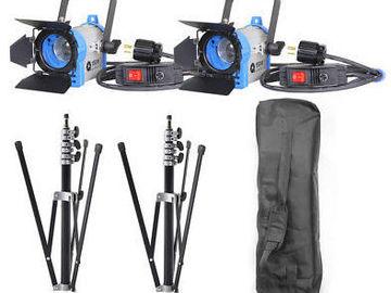 Udlejer: Lej 2 x 850W Arri Redhead ready-to-go-kit