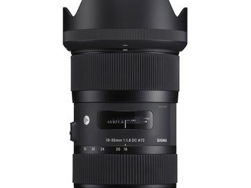 Udlejer: Sigma 18-35mm F. 1.8