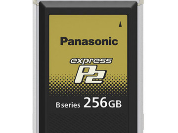 Lender: Panasonic Express P2 memory card 256GB