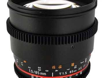 Rokinon optik 85mm T 1,5
