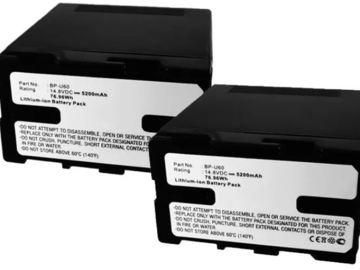 Udlejer: BP-U60 batterier til Sony PMW-150 PMW-160