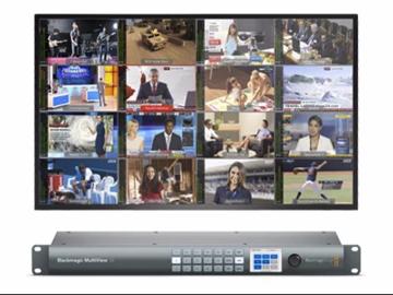 Udlejer: MultiView 16 uden skærm fra Blackmagic