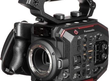 Udlejer: Panasonic AU-EVA1 inkl. Batterier og SD Kort