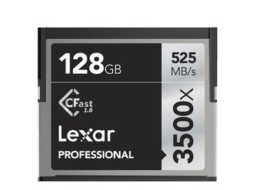 Udlejer: Lexar 128 GB CFAST 2.0 Pro 525MB/S 3500X