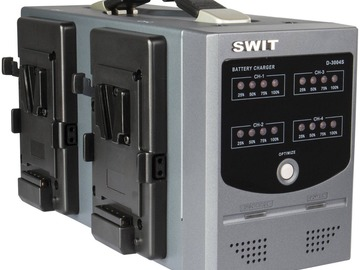 Vermieter: SWIT D-3004S 4-Channel Simultaneous Charger