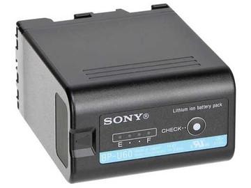 2 batterier til SONY XD CAM