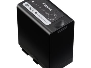 3 batterier til Canon C300 inkl. oplader