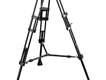 MANFROTTO C300 Tripod med 504 HD hoved inkl. Sko
