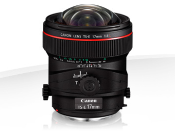 Udlejer: CANON LENS TS-E 17mm