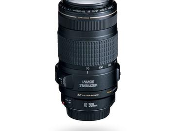Udlejer: CANON Macro 1.5 Meter 70-300mm, Ultrasonic Image Stabiliser