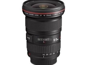 Udlejer: CANON Zoom Lens EF 16-35mm
