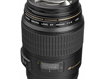 Udlejer: CANON Macro Lens EF 100mm 1:2.8 USM