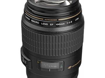 CANON Macro Lens EF 100mm 1:2.8 USM