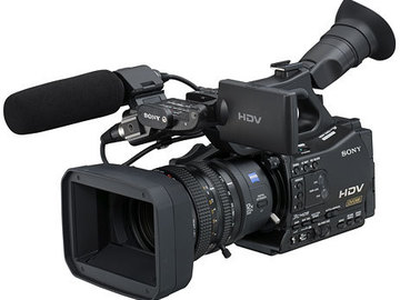 SONY HD XD CAM EX inkl. SD kort og bånd