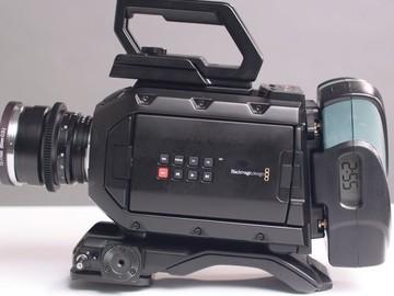 Udlejer: Blackmagic Ursa Mini 4.6k EF mount