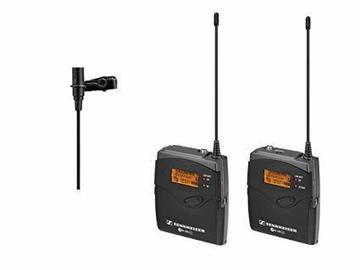 Udlejer: 2 x Sennheiser G3 mikroports mikrofonsæt