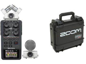 Udlejer: Zoom H6, X/Y mikrofon og Mid-Side mikrofon