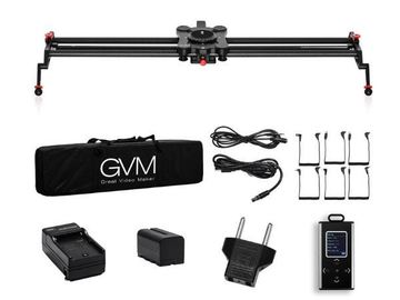 Lender: Motorized Video Slider GP-120QD med tilt head