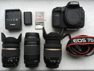 Udlejer: Canon 7D-pakke
