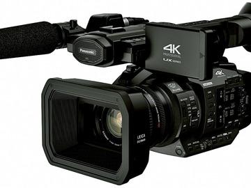 Udlejer: Panasonic AG-UX180 4K  20x optisk Leica, SDI, HDMI,TC