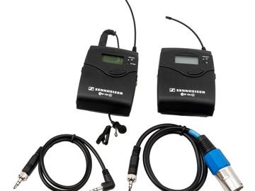 Udlejer: Sennheiser ew100 G3 Microport Kit