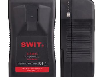 Udlejer: SWIT S-8183S 240Wh LI-ION Batterier - 2 stk.
