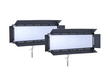 Udlejer: LS V-6000ASVL Victorsoft 1x4 BI-Color LED Panel - 2 stk.