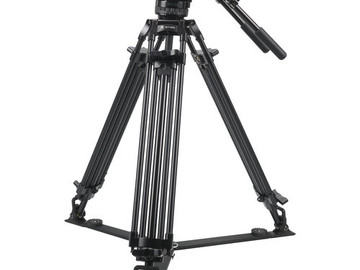 Udlejer: SIRUI BCT-2003 Broadcasting Tripod + SIRUI BCH-20 Head