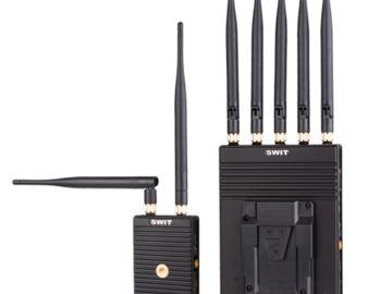 Udlejer: Swit S-4914s SDI/HDMI 700m Wireless Transmission System
