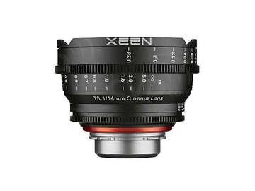 Udlejer: Samyang Xeen Cinema Lens T3.1/ 14mm (Sony E Mount)