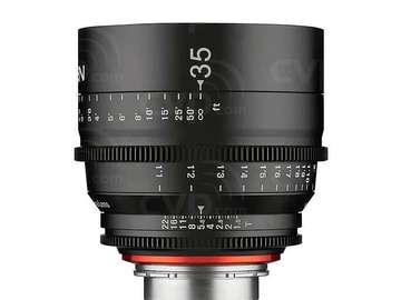 Udlejer: Samyang Xeen Cinema Lens T1.5/ 35mm (Sony E Mount)