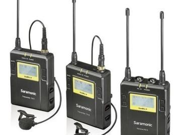 Udlejer: Trådløs Dual-Channel microport sæt | Saramonic