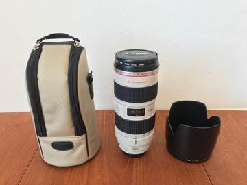 Udlejer: Canon EF 70-200mm F/2.8 IS USM