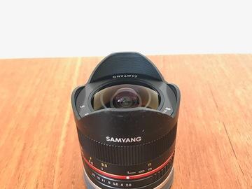 Udlejer: Samyang 7.5mm Fisheye