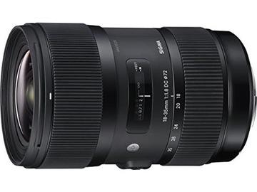 Udlejer: Sigma 18-35mm F1.8 Art DC HSM Lens for Canon EF