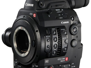Udlejer: CANON EOS C300 MK II CAMCORDER (Body only)