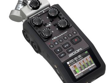Udlejer: ZOOM H6 PORTABLE DIGITAL RECORDER