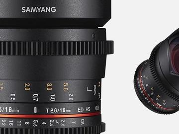Udlejer: Samyang 16MM T2.6 ED AS UMC